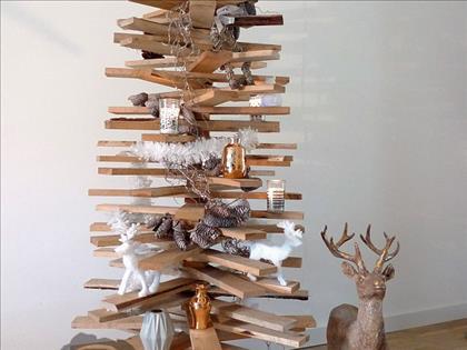 DIY: Houten kerstboom