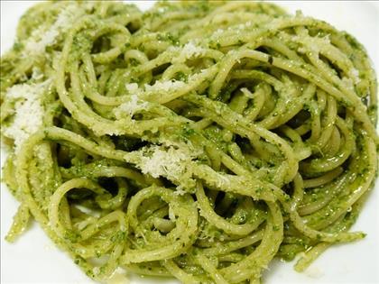 Budget recept: spaghetti pesto voor 1,40 euro p.p!