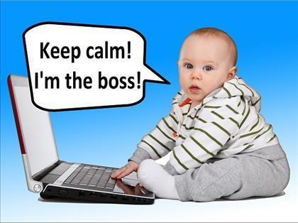 Jong en al eigen baas